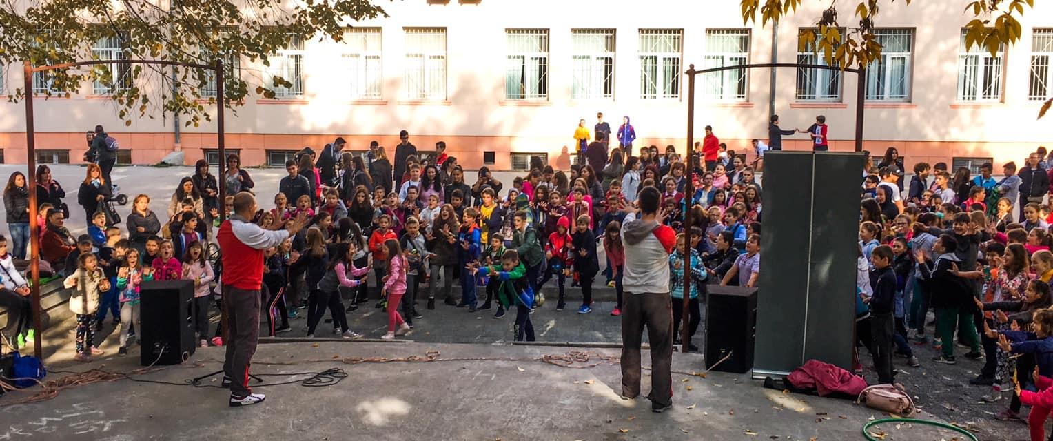 демонстрация пред деца