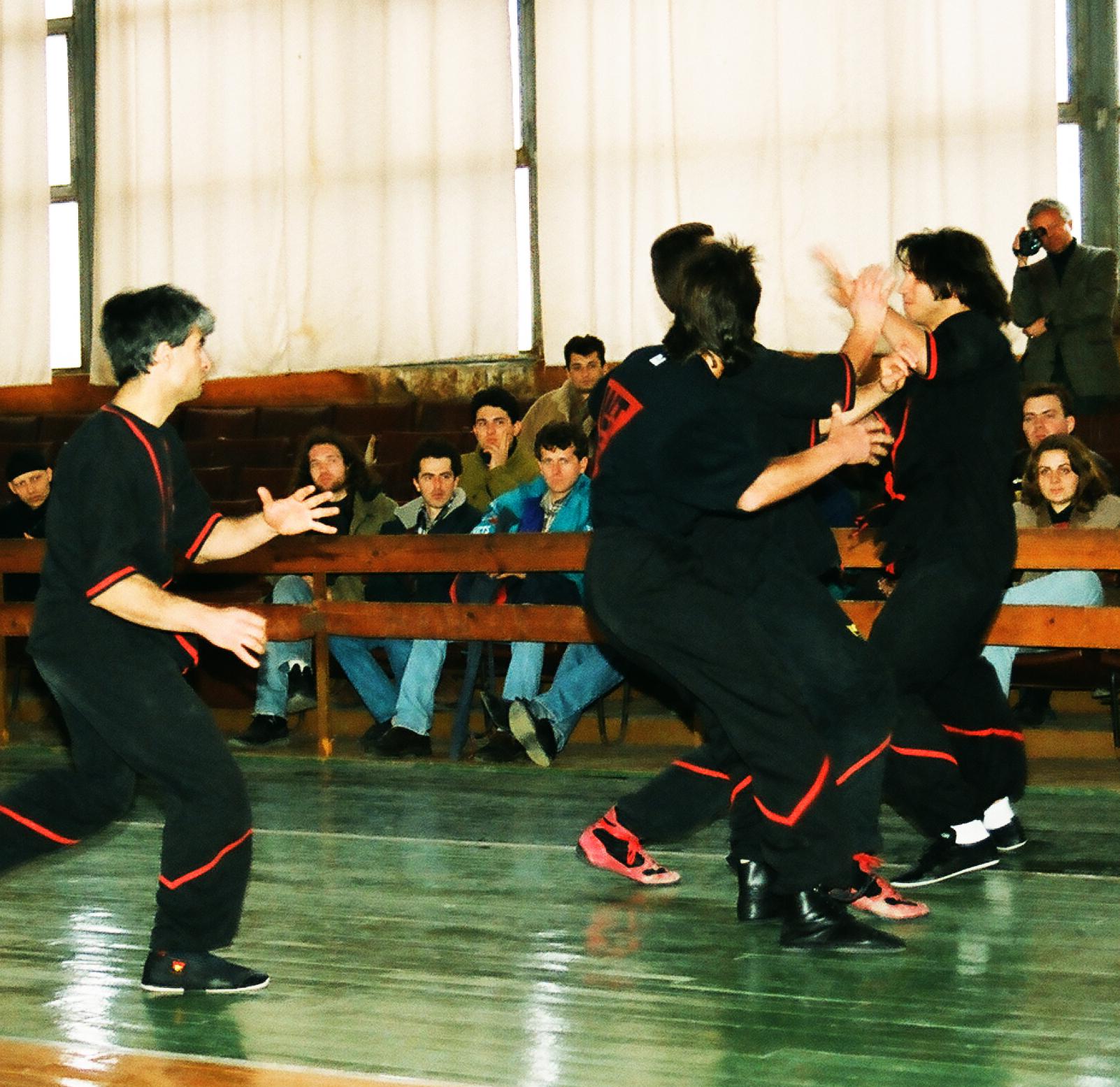 WingTsun fight 1996