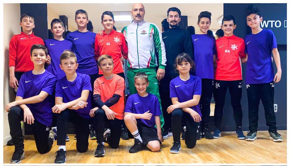 Ares Futbol Sofia wing tsun